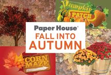 Fall Into Autumn / Do you smell pumpkin spice, cinnamon swirl and butternut squash? Fall into Autumn with our great autumn themed products and projects!