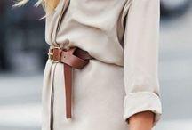 Dress in camel/nude
