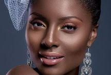 Dark skinned chocolate makeup