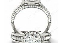 Diamond Rings Melbourne / Our expert jeweller can also assist you in this process, they will develop a 3D image of the ring which you've designed to match your loved ones personality, occupation, fashion, style, hobbies and interests.