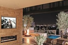 Outdoor patios and landscaping