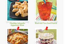 Kraft Recipe Ideas / by Beverly Oferrall