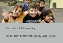 ... Whose Peace Will it Be? by Luc Pien Exploring a future for Iraq and the Middle East / P21 Gallery invite you to: Film Screening followed by Q&A. ... Whose Peace Will it Be? by Luc Pien. Exploring a future for Iraq and the Middle East.  Wednesday, 25 November 2015, 18:30 - 20:30. RSVP: https://podio.com/webforms/14225697/954218 .  Please see the attached invite for more details.  Location: 21 Chalton Street, London, NW1 1JD | Nearest .  underground: King's Cross/St. Pancras and Euston Station | Tel: 020 7121 6190 | Web: www.p21.org.uk