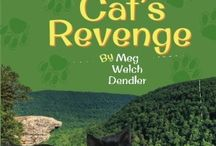 """""""Miss Fatty Cat's Revenge"""" / All about Miss Fatty Cat and her book """"Miss Fatty Cat's Revenge"""" -- Book 3 in the Cats in the Mirror series"""