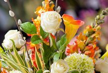 Artificial Flower Decorations / Fabulous flower displays using artificial flowers