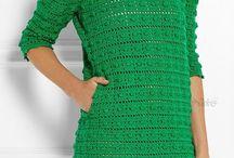 Ресерч - платье крючком