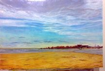 my paintings / Oil Painting- Seascapes and landscapes