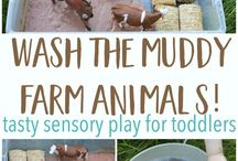 Play / Play spaces, sensory activities, arts & crafts, things to do with kids.