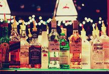 Liquor collection drinks & mixes / by Isabel Escareno