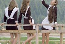 Russia Girl, Pioniere, Schule, School