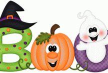 Letreros de halloween