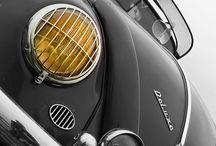 Classic car, motor