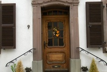Dutch doors (main entrance)