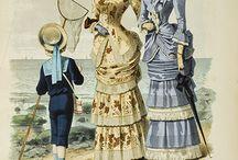 Historie odívání 1870-1880