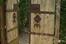Gates / Unique and creative gate ideas / by Elyria Fence