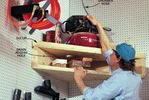Creative Shop Storage / Woodworking Shop Storage Ideas