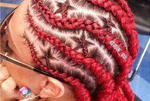 Hair: CaneRow
