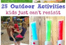 Outdoor activities for older kids