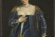 Mode vestimentaire /  Fashion / La mode traverse les siècles et ne cesse de se réinventer. Découvrez les costumes et les plus belles robes à travers les peintures du Musée du Louvre.