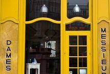 Shops, facades