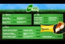 Food Service / About Digital Menu Boards for the Food Service Industry.