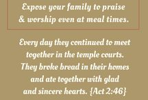 Brunch & Worship / Fellowship, worship at meal times