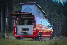 SCA Rear elevating pop top roofs / VW T5 Kombi/campervan