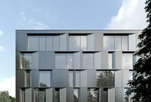 Easst.com / TWIN OFFICE BUILDINGS  / Architecture / We are glad to present our new office design of two office buildings located in Poznan, Poland.  www.easst.com