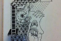 drawing tattoo / Dessin, flash, coup de crayon, tous ça destiné a être posé sur peau