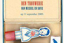 Inspiratie Trouwkaarten/ Save the date