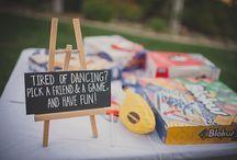 board games wedding