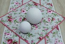 Obrus štvorec - bytový textil - home textiles / Štvorcový obrúsok, dekoračný štvorec, ozdobný štvorcový obrúsok