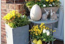 jaro a zahrada