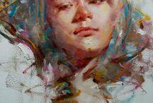 Huile / Peinture à l'huile