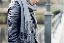 Scarfs. Grey and Fabulous