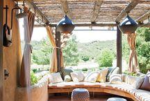 Patio / And porch, terrace, lanai, courtyard, sunroom...... / by Catarina De Guidice