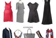 Maternity fashion / Cute outfits, awesome stores, wearable accessories while pregnant