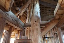 Simply Grande / Take a gander at the gorgeous post and beam home built by Beat and Sam in Grande Prairie