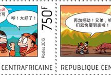 New stamps issue released by STAMPERIJA | No. 362 / CENTRAFRIQUE 30 08 2013 Code: CA13514a-CA13525a