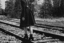 TRACKS & TRAINS / by Monica Rey
