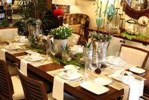 Happy Holidays! The Art of Table Design at Tommy Bahama Home / Tommy Bahama Home, Orange County Chapter of ASID and Luxe Interior + Design Presents The Art of Table Design. The evening featured exquisite holiday tabletop displays from leading Orange County designers.  / by Orsi PR