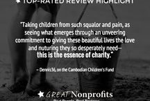 Top-Rated Review Highlights / Read some of the best and heartwarming reviews about our Top-Rated nonprofits! / by GreatNonprofits
