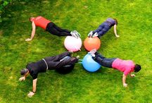 Space hopper ball Fitness workouts