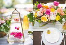 wedding mise en place