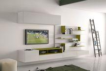 Muebles de salon de Diseño en Murcia / Muebles para televisión de diseño moderno de salón que puedes comprar en Mueblería de Angel-Tu Belleza Interior.