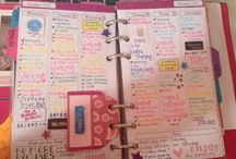 Success is all in the planner;-) / Indulging my fantasies that the perfect planner will make me organized
