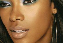 Inspiração: Maquiagem / AMO/SOU essas referências de maquiagens para mulheres negras!