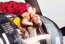 Aviation pinup