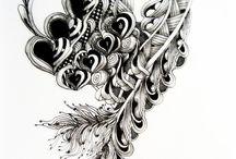 Zentangling, doodling / by Nancy Crissinger