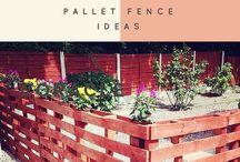 fence pallets